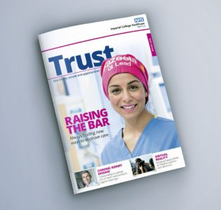 Imperial College Healthcare NHS Trust – staff magazine